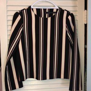 Zara blouse long sleeve size small